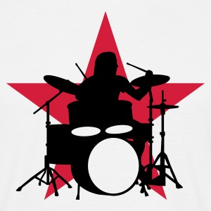 drummer_c_2c Tee shirts - T-shirt Homme