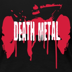 Schwarz Death Metal T-Shirts - Frauen Premium T-Shirt