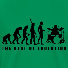 evolution_drummer_c_1c T-Shirts