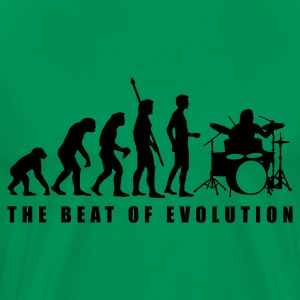 evolution_drummer_c_1c T-Shirts - Men's Premium T-Shirt