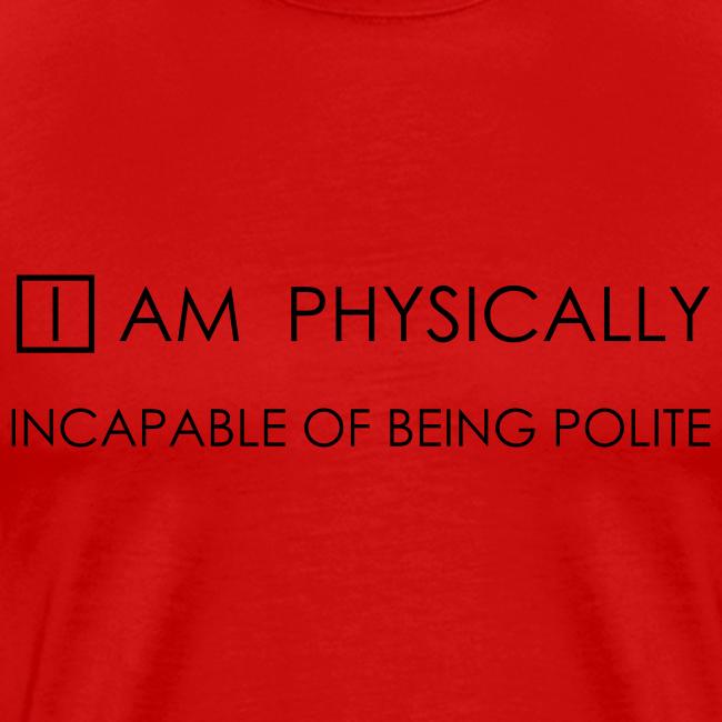 Not polite (heren)