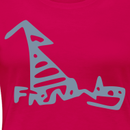 Design ~ French Dog Women's Classic T-Shirt