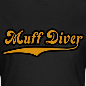 Noble brown muff_diver Women's T-Shirts - Women's T-Shirt