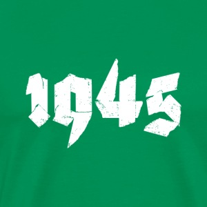 Kelly green Jahr 1945 Men's T-Shirts - Men's Premium T-Shirt