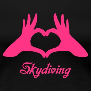 Love Skydiving - Women's Premium T-Shirt