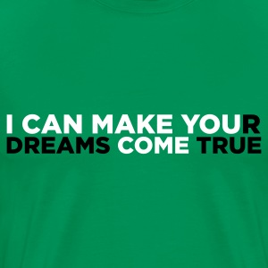 Vert kaki I Can Make You Come (2c) T-shirts - T-shirt Premium Homme