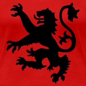 Red Scottish Lion Women's T-Shirts - Women's Premium T-Shirt
