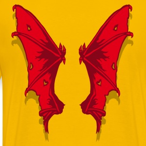 Demon wings - T-shirt Premium Homme