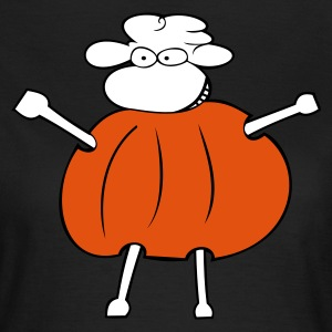 Chocolate Määählloween T-Shirts - Frauen T-Shirt