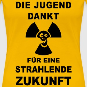 Girlieshirt Atomkraft Nein Danke 52 © by kally ART® - Frauen Premium T-Shirt