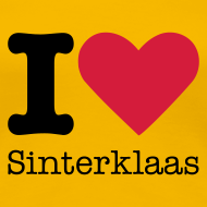 Ontwerp ~ I Love Sinterklaas