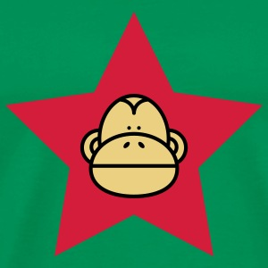 Khaki green Monkey Revolution Men's T-Shirts - Men's Premium T-Shirt