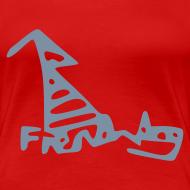 Design ~ French Dog Women's Girlie Shirt