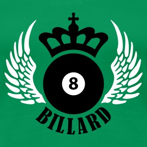 Grasgrün billard_eight_2c T-Shirts - Frauen Premium T-Shirt