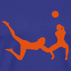 Sky volleyball Men's T-Shirts - Men's Premium T-Shirt