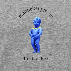 Manneken Pis I'M THE BOSS - T-shirt Premium Homme