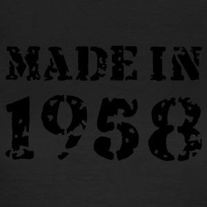 Olive Made in 1958 T-Shirts - Frauen T-Shirt