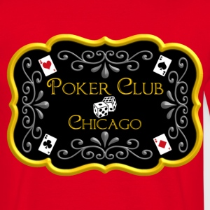 Rouge poker club T-shirts - T-shirt Homme