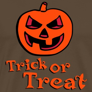 halloween_pumpkin_3c_trick_or_treat Tee shirts - T-shirt Premium Homme