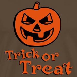 halloween_pumpkin_2c_trick_or_treat Tee shirts - T-shirt Premium Homme