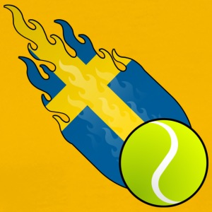 Fireball Tennis Sweden - Men's Premium T-Shirt