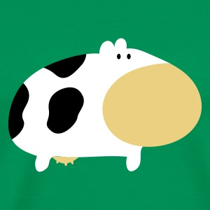 Moo Cow Farm Animal Farm Muhkuh Muuuh T-shirts - Herre premium T-shirt