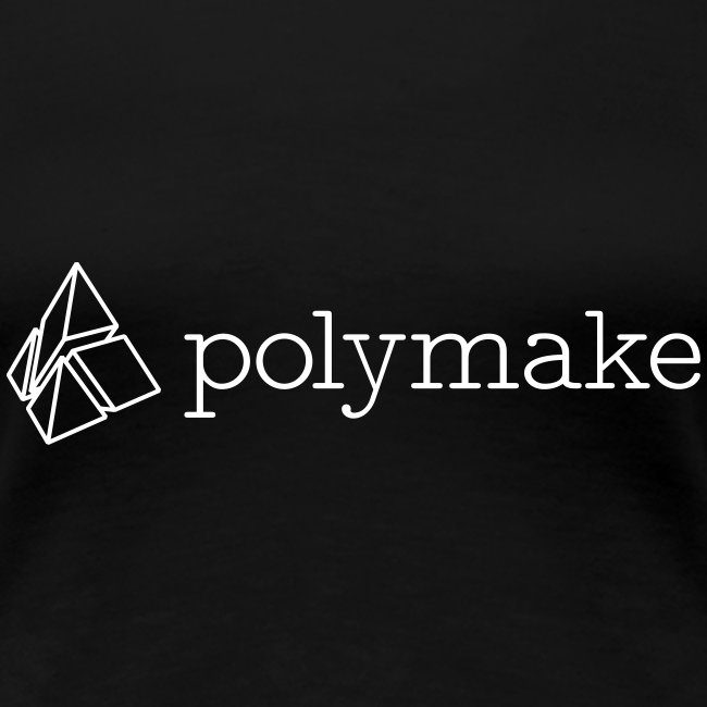 polymake women's t-shirt (outlined logo)