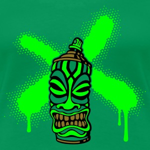 SPRAY A CROSS TIKI (P UK) - Women's Premium T-Shirt