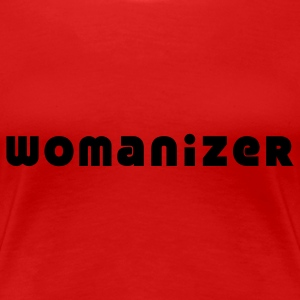 womanizer T-Shirts - Frauen Premium T-Shirt