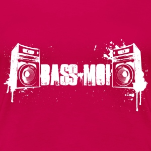 bass-moi baise-moi bass lautsprecher speaker soundsystem T-Shirts - Frauen Premium T-Shirt
