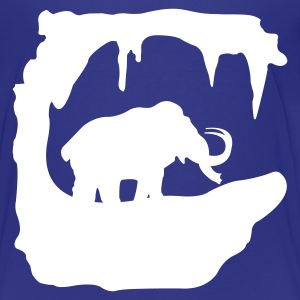 Prehistoric Ice Age mammoth elephant Kids' Shirts - Teenage Premium T-Shirt