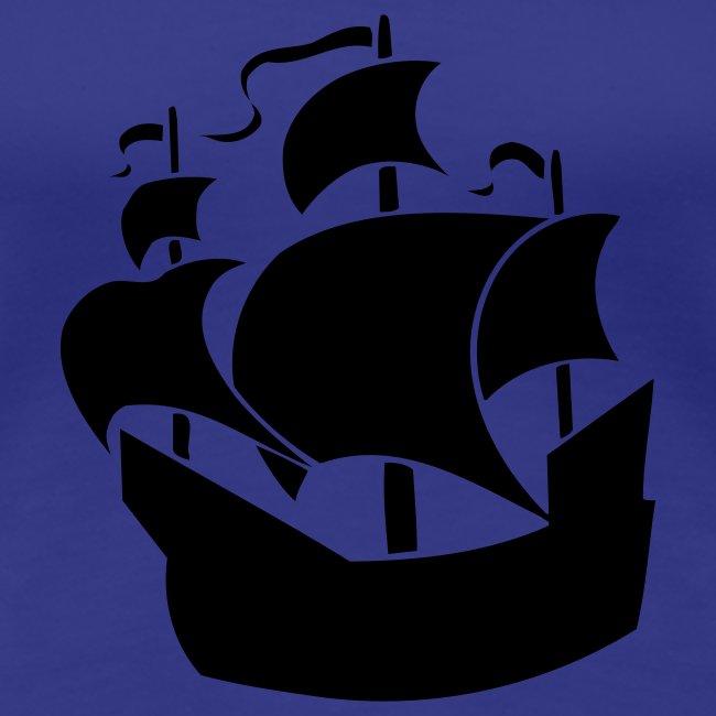 Ship Womens Classic T-Shirt