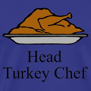 Head Turkey Chef T-Shirts - Men's Premium T-Shirt
