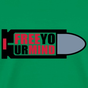 Free your Mind | Bullet | Patrone T-Shirts - Herre premium T-shirt