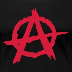 Schwarz Anarchie / Anarchy A T-Shirts