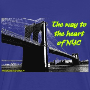 the_way_to_newyork T-Shirts - Männer Premium T-Shirt