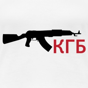 KGB - Kalashnikov / Weapon / Gun / Army T-Shirts - Frauen Premium T-Shirt