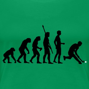 evolution_herren_hockey_2c T-shirts - Vrouwen Premium T-shirt