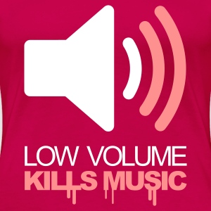 Pink Low Volume Kills Music T-Shirts - Frauen Premium T-Shirt