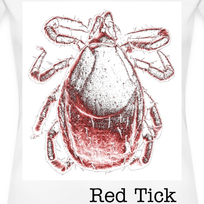 Red Tick - Rote Zecke