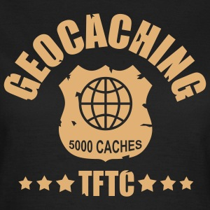 geocaching award 5000, 1 color - front - Women's T-Shirt