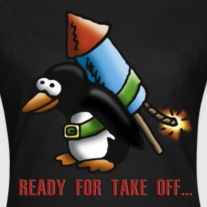 rocket_pinguin_e T-Shirts - Women's T-Shirt