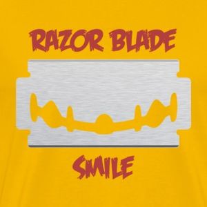 Razor Blade Smile - Men's Premium T-Shirt