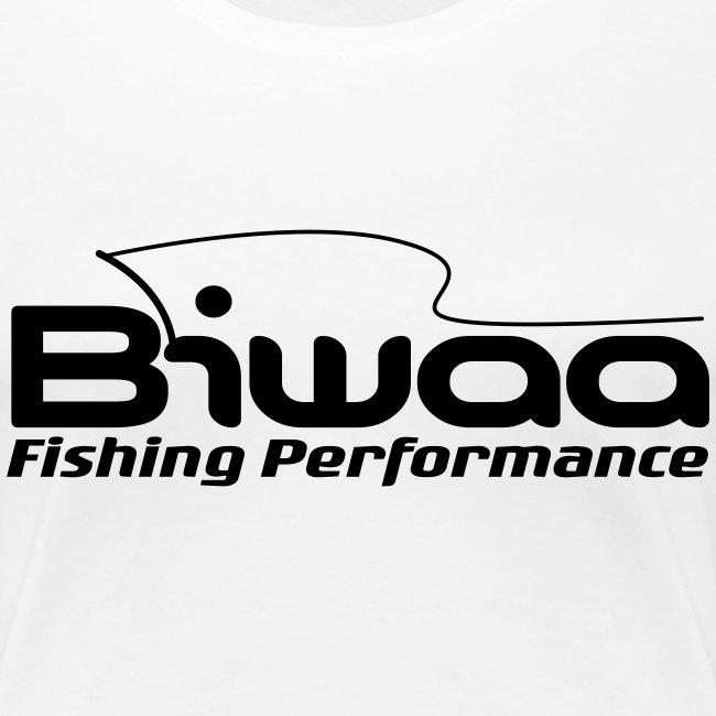 T-shirt Biwaa Femme logo noir
