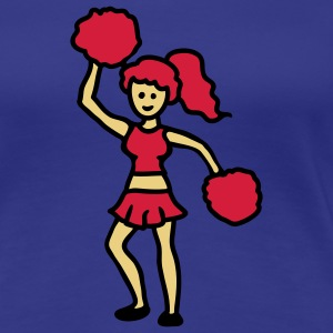 Cheerleader 3 T-Shirts - Frauen Premium T-Shirt