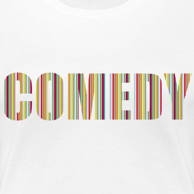 Comedy Damen T-Shirt Streifen