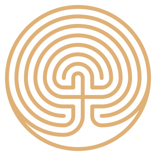 Labyrinth Heiliges Symbol