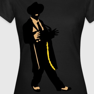 Retro vintage zoot suit by Patjila T-shirts - Vrouwen T-shirt