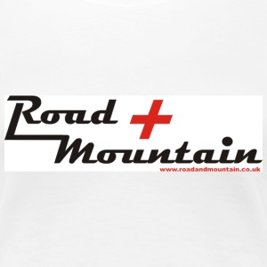 Road and Mountain - Women's Premium T-Shirt