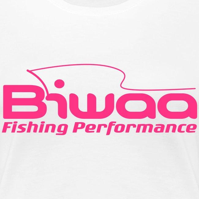 T-shirt Biwaa Femme logo Biwaa rose